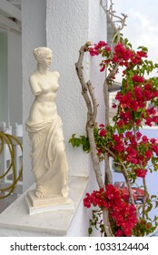 Figure copy of Aphrodite the Venus of Milo . Greece. Milos island.
