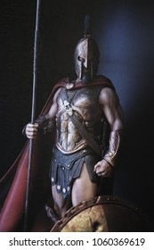 The figure of Sparta, from the film 300. In the Museum of Film Legends in Prague 30.3.2018.