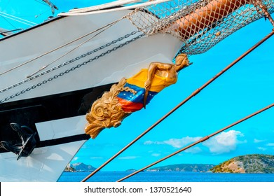 figurehead, school ship of venezuela