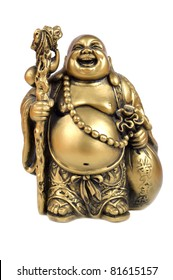 Figurine in the form of gold symbolising riches.