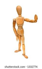 Figurine Pose - Stop