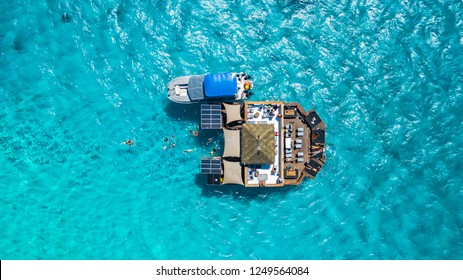 Fiji Islands Cloud 9. Probably best floating bar in the world