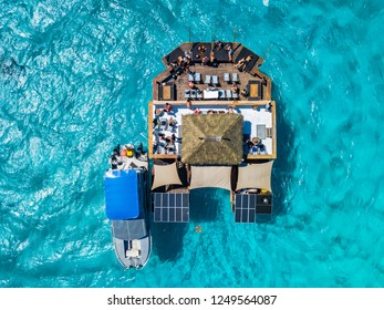 Fiji Islands . Probably best floating bar in the world