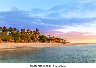 Fijian Sunset. The Magical Mamanuca Islands in Fiji are just stunning.