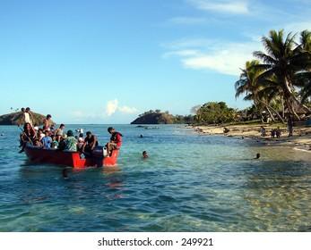 A Fijian Taxi