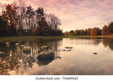 Filborna forest park in Helsingborg, Sweden.