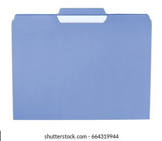 File folder for compiling info on various subjects