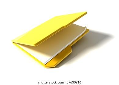 file folder icon on white background