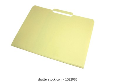 File Folder (with clipping path)