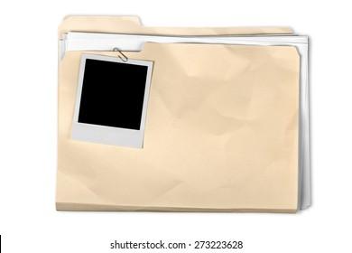 File, Paper Clip, Paper.