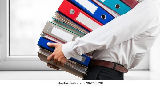 File, Ring Binder, Emotional Stress.