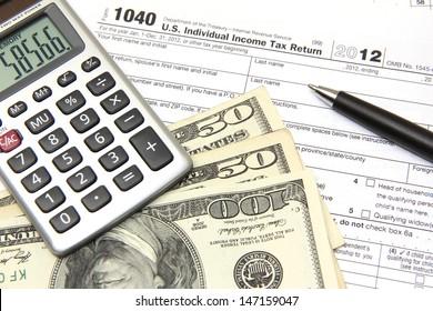 filing tax returns 2012