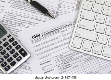 Filing taxes online using a computer