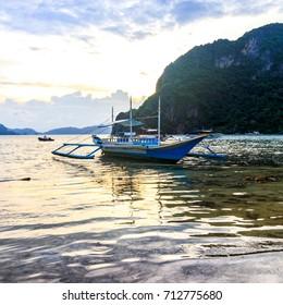 Filipino Fishing Boat in El Nido, Palawan