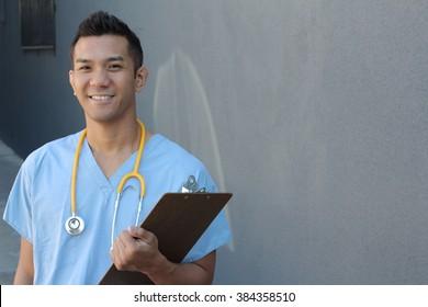 Filipino healthcare professional