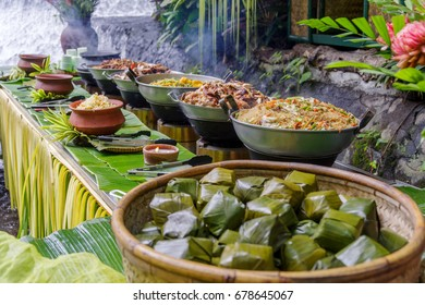Filipino stye lunch buffet