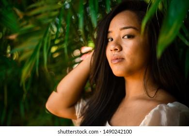 Filipino Woman in beautiful sunny california