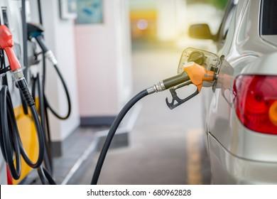 Let's  fill gasoline in car