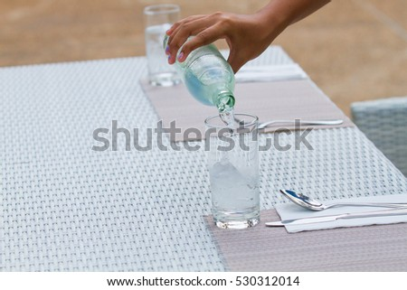 Fill Glass Water Stock Photo (Edit Now) 530312014 - Shutterstock