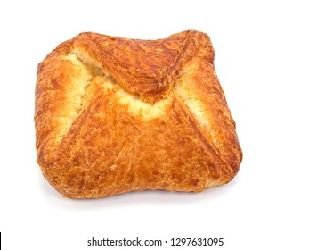 Filled puff pastry with quark, cake