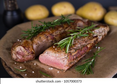 Fillet of pork with rosemary