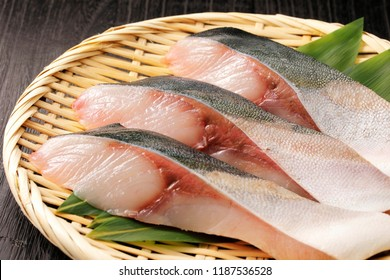 Fillet of yellowtail