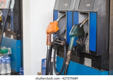 filling station, which provides refueling the car.