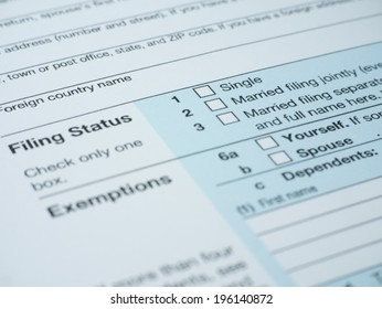 Filling status box