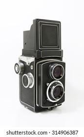 film camera isolate on white background