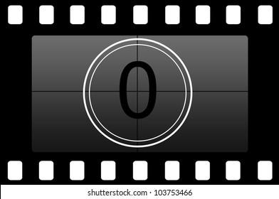 Film countdown 0
