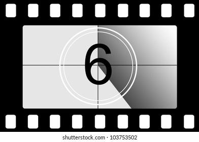Film countdown 6