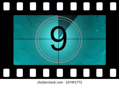 Film countdown 9