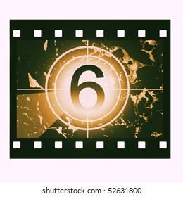 Film countdown at No 6