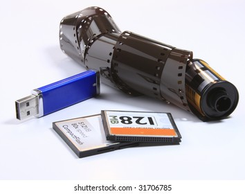film with other means of photo storage