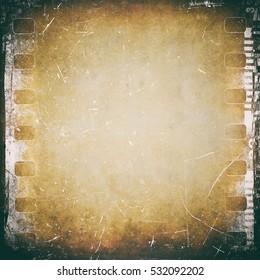 Film strip background, vintage texture