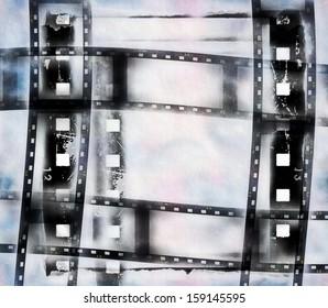 film strip frame background