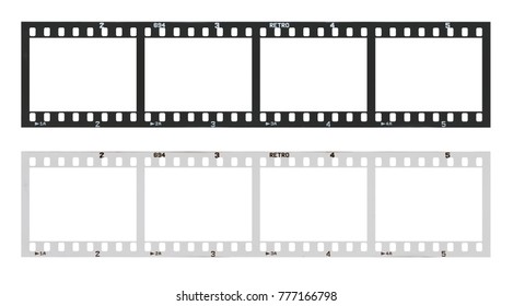 Vintage film strip images stock photos vectors for Film strip picture template
