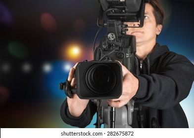 Film, tv, broadcasting.