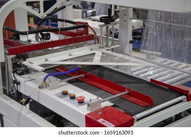 Film wrapping box package machine for food product