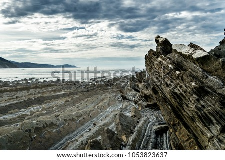 Filming Location Game Thrones Zumaia Spain Stock Photo Edit Now