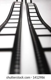 films fading into the horizon