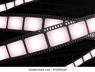Filmstrip background