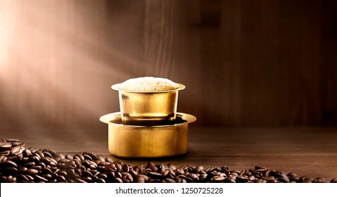 FILTER COFFEE BACKGROUND