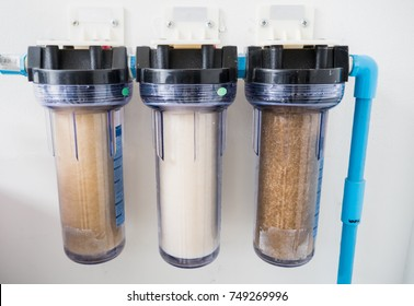 Filters for Drinking Water Purification isolated