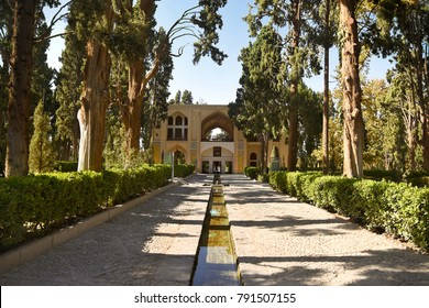 Fin Garden. Is one of the most famous royal gardens of the country and the place where Amir Kabir was murdered. Kashan, Iran.