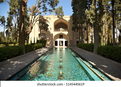 Fin Garden. Park is near the Kashan town. The historic place where Amir Kabir was murdered. Iran.
