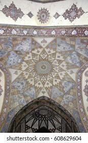 Fin, Kashan, Esfahan, Iran, March 23, 2017, It contains Kashan's Fin Bath, where Amir Kabir, the Qajarid chancellor, was murdered by an assassin sent by King Nasereddin Shah in 1852.