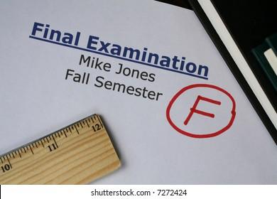 Final Examination Failed