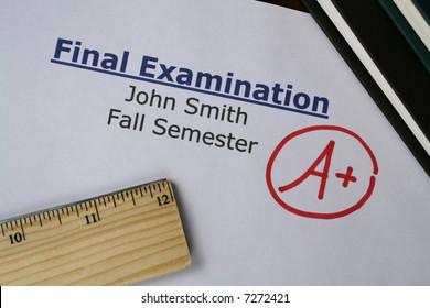Final Examination Grade