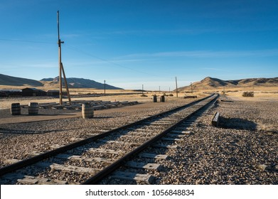 Final Meeting Point of the Transcontinental Railroad, Golden Spike National Historic Site, Utah